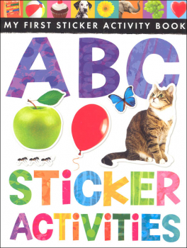 My First Sticker Activity Book: ABC Sticker Activities