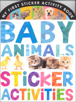 My First Sticker Activity Book: Baby Animals