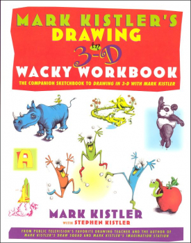 Drawing in 3-D Wacky Workbook
