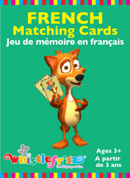French Memory Matching Cards