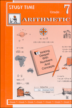 Study Time Arithmetic - Textbook, Grade 7