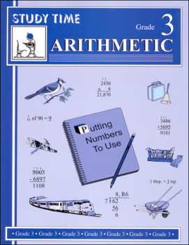 Study Time Arithmetic - Workbook, Grade 3