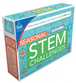 Seasonal STEM Challenges Activity Cards (STEM Challenges Activity Cards)