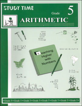 Study Time Arithmetic - Workbook, Grade 5