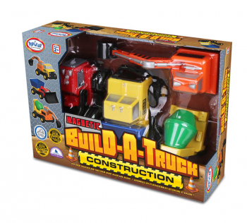 Magnetic Build-A-Truck: Construction