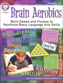 Brain Aerobics: Word Games and Puzzles to Reinforce Basic Language Arts Skills