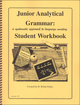 Junior Analytical Grammar Workbook only