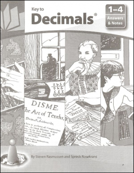 Key to Decimals Answers and Notes for Books 1-4