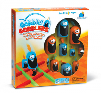 Gobblet Gobblers Game (Plastic Grid Version)