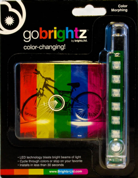 Go Brightz Bike Light - Color Morphing