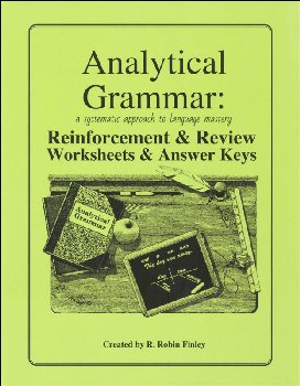 Analytical Grammar: Reinforcement & Review - Worksheets & Answer Keys