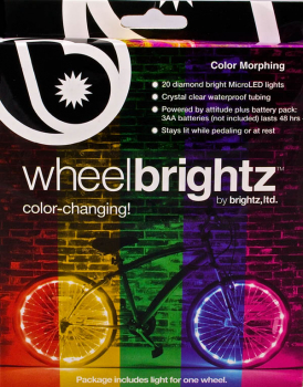 Wheel Brightz Bike Tire Lights - Color Morphing