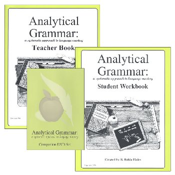 Analytical Grammar Set (Student Workbook and Teacher Book)