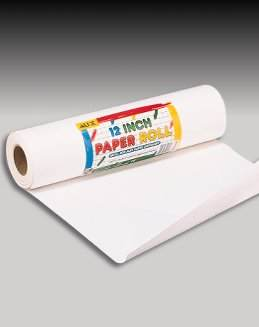 "Paper Roll 12"" wide, 100 ft long"