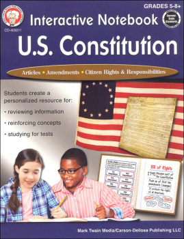 Interactive Notebook: U.S. Constitution