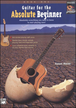 Guitar for the Absolute Beginner Book 1 & CD-ROM