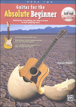 Guitar for the Absolute Beginner Book 2 & Online Audio