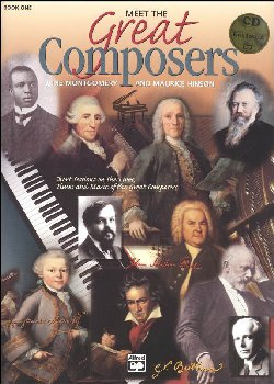 Meet the Great Composers Book 1 w/ CD