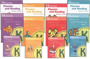 Horizons K Phonics and Reading Complete Set