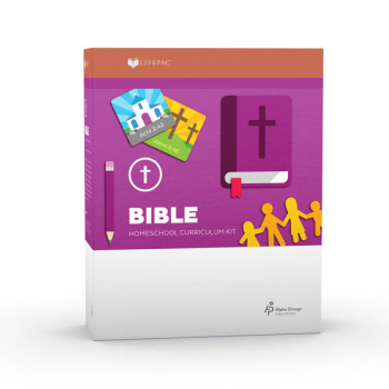Bible 1 Lifepac Complete Boxed Set