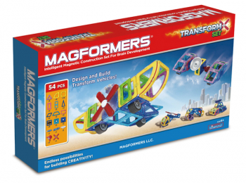 Magformers - Transforming Vehicle Set