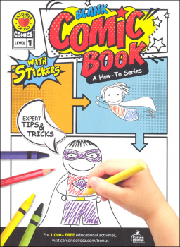 Blank Comic Book: How-To Series Level 1 Activity Book