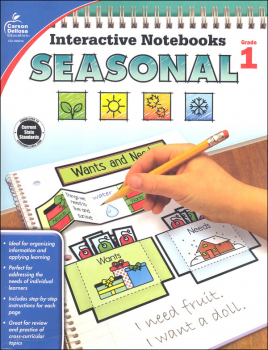 Interactive Notebooks: Seasonal - Grade 1