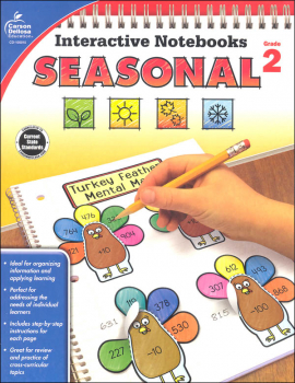 Interactive Notebooks: Seasonal - Grade 2