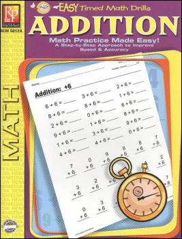 Addition (Easy Timed Math Drills)