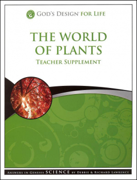 World of Plants Teacher Supplement 3rd Edition