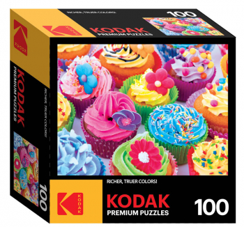 Kodak Colorful Cupcakes Puzzle (100 piece)