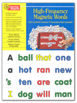 High-Frequency Magnetic Words