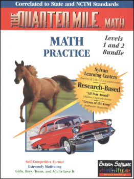 Quarter Mile Math Levels 1 & 2 Bundle CD-ROM