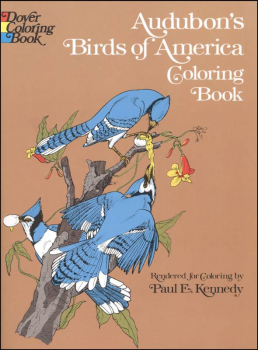 Audubon Birds of America Coloring Book