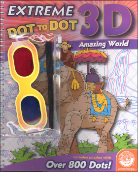 Extreme Dot to Dot Book 3-D: Amazing World