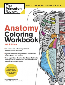 Anatomy Coloring Book (Princeton Review) 4ED