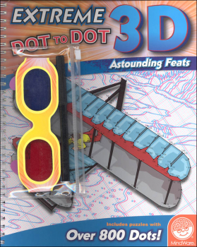 Extreme Dot to Dot Book 3-D: Astounding Feats