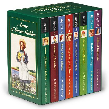 Anne of Green Gables Boxed set of 8