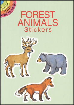 Forest Animal Small Format Stickers