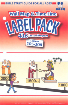 Label Pack for Lessons 105-208 (New)