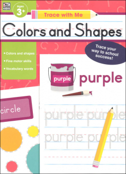 Colors and Shapes Activity Book (Trace with Me)