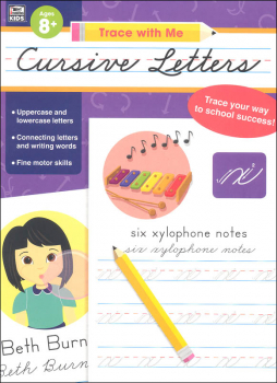 Cursive Letters Activity Book (Trace with Me)