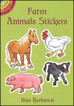 Farm Animals Small Format Stickers