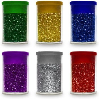 Multicraft Krafty Kids Glitter Vails Metallic