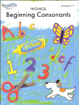 Color, Cut & Paste Phonics: Beginning Consonants