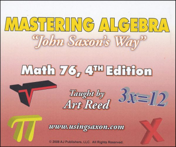 Mastering Algebra - Math 76 DVD (4th Edition)