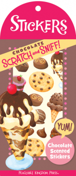 Chocolate Scratch & Sniff! Stickers