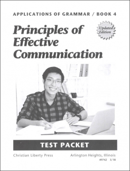 Applications of Grammar 4 Test Packet Updated Edition