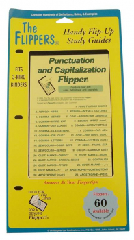 Punctuation and Capitalization Flipper