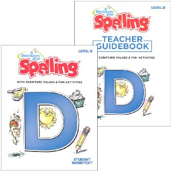 Reason for Spelling D Homeschool Set